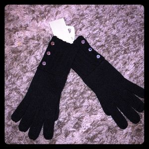 NWT Black Michael Kors Gloves